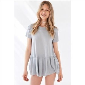 Truly madly deeply ruffle t shirt